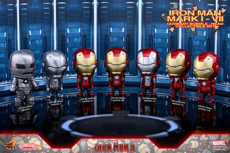 Toys Cosbaby Iron I Metallic Colour Version Bobble iron cosbaby bobble heads at toys flagship store plastic and plush