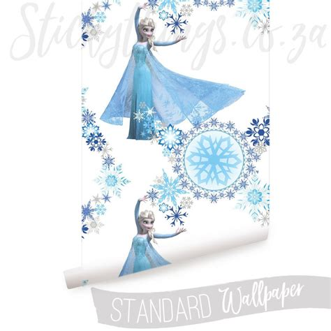 frozen wallpaper roll disney frozen wallpaper snow queen elsa stickythings