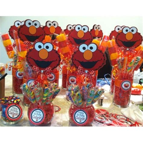 Elmo Centerpieces Decorations Elmo Centerpieces Google Search First Birthday