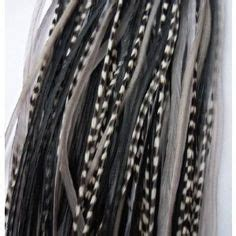 salt and pepper tape in hair extentions feathers and hair warps on pinterest feather extensions