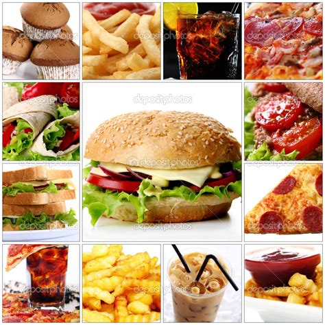 Fast Food Collage Is Fast Food Influencing Your Child S Success Tolhurst