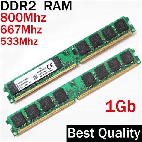 Memory Ddr2 Pc 1 Gb 2gb ram ddr2 1gb 800 667 533 ddr dimm 1g ddr2 800mhz 667mhz 533mhz dual channel memoria