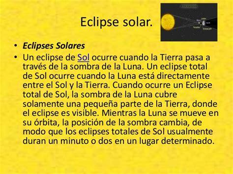cuando cambia la luna teor 237 as sistema solar eclipses solares y