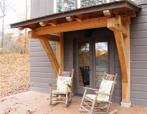 timber frame home shed porch timber frame porch heavy timbered porch homestead