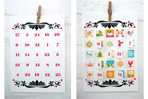 paper advent calendar template advent calendar home in the country