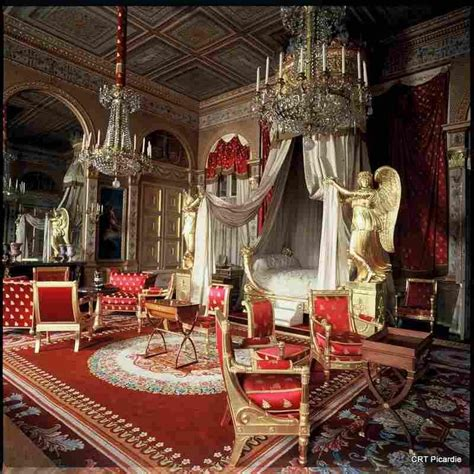 decoration compiegne chateau de compiegne picardie bedroom of