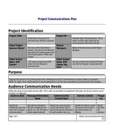 project communication plan template project communication project communication plan