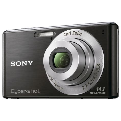 Kamera Sony Cybershot 14 1 Mp sony cybershot dsc w530 noir appareil photo num 233 rique sony sur ldlc