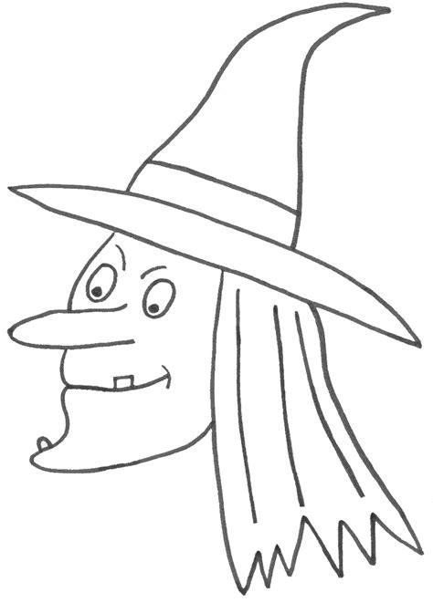 imagenes para pintar la cara de bruja dibujos de halloween para colorear e imprimir