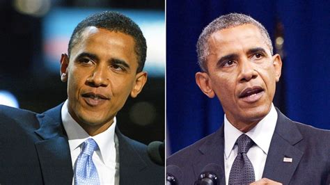where are the obamas now how obama s look has changed since his dnc speech 10 years