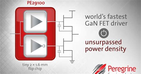 gan transistor driver peregrine claims fastest gan fet driver microwave engineering europe