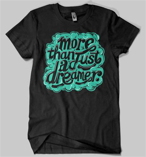 typographic t shirts