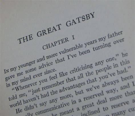 themes in the beginning of the great gatsby the first line of the great gatsby quot whenever you feel