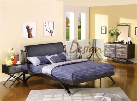 bedroom set for teens 4 pc kids boys teen bedroom set twin full queen bed dresser chrome metal modern ebay
