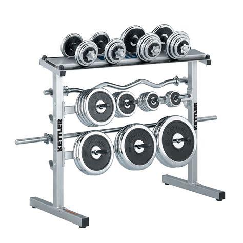 Jual Dumbbell Set Kettler weight stand