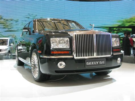 bentley chinese attack of the chinese clones geely vs rolls royce