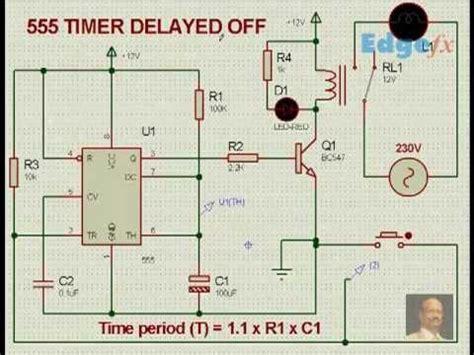 555 delay timer circuit diagram 555 timer delay circuit with circuit diagram 555