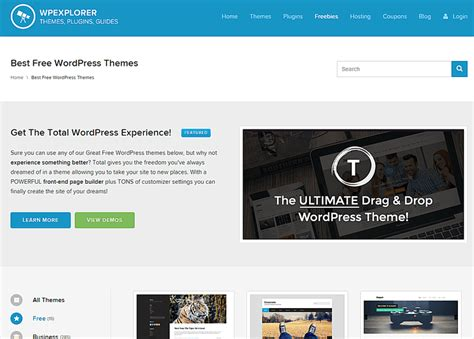 wordpress themes no pictures the 10 top places to download free wordpress themes
