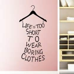 Wall Sticker Online Shopping Quotes About Shopping And Clothes Quotesgram