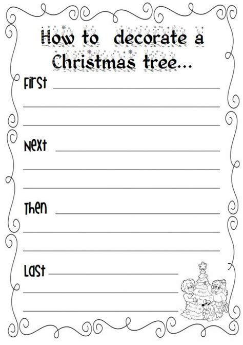 decorate your own christmas tree worksheet 1313 best images about classroom ideas on early childhood activities and student
