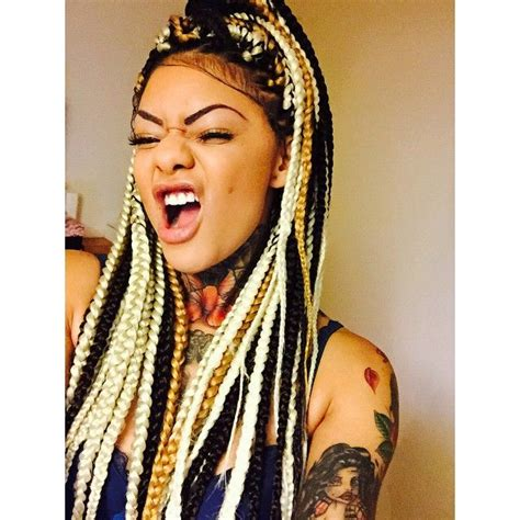 dark blonde braid extensions 1000 images about hair on pinterest protective styles