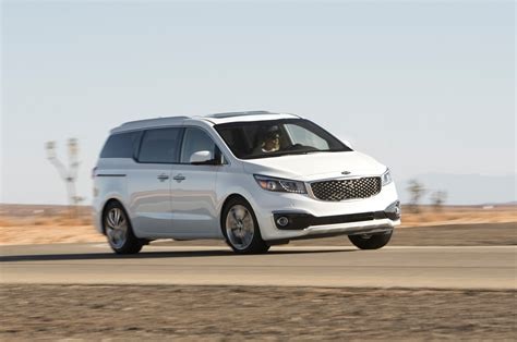 2015 Kia Sedona Tour 2015 Kia Sedona Sxl Inside And Out Motor Trend