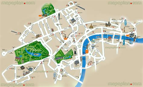 easy map of maps update 21051488 tourist map of attractions