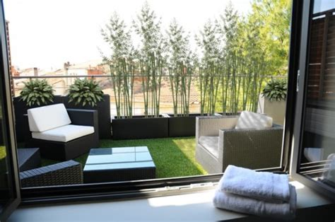 erba finta per terrazzi erba sintetica per terrazzi