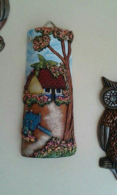 tutorial decoupage en tejas 285 best images about tejas pintadas a mano on pinterest