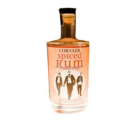 Garage Shelf Design spiced rum corsair distillery