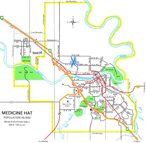 medicine hat city map medicine hat map medicine hat and canada