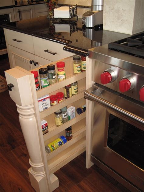 Stove Spice Rack by Pull Out Spice Racks On Either Side Of The Range