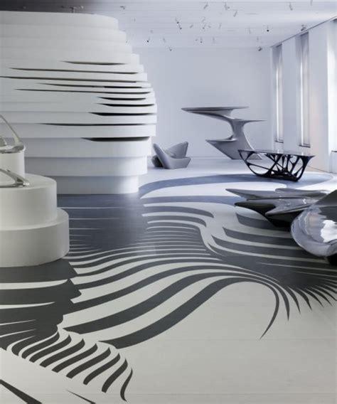 Korean Floor Table Form In Motion Zaha Hadid Architects Arch2o Com
