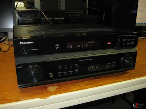 Home Theater Pioneer pioneer vsx 818v home theater receiver used photo 226341 canuck audio mart