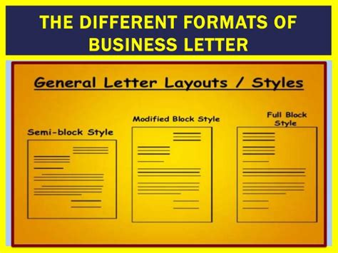 Business Letter Style Guide different format of business letter letter format 2017