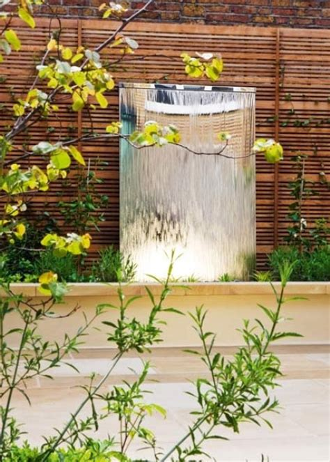 wasserwand outdoor 49 amazing outdoor water walls for your backyard digsdigs