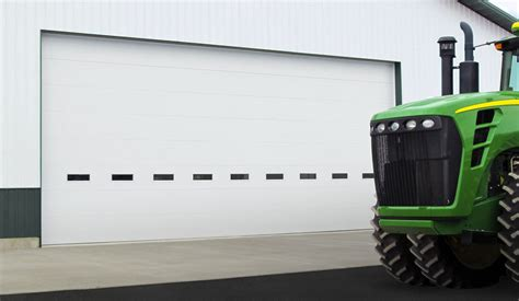 insulated commercial garage doors commercial polystyrene doors by clopay edmonton encore