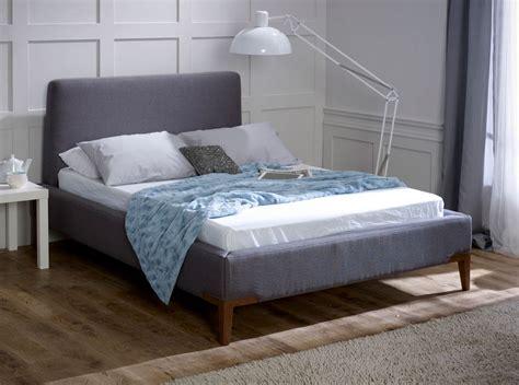 Grey King Bed Frame by Media Slate Grey King Size Bed Frame