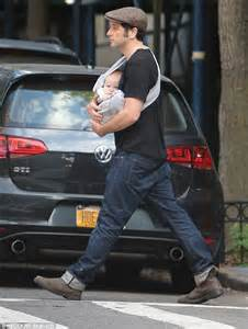 matthew rhys baby matthew rhys takes adorable baby son sam out for a walk in