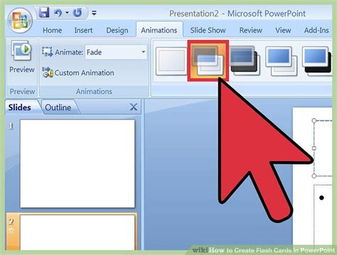 how to make flash cards how to create flash cards in powerpoint with pictures