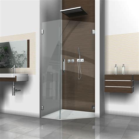 eck duschtüren glas 5 eck dusche mit duscht 252 r