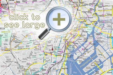 printable map tokyo maps update 12361258 tourist map of tokyo tourist map