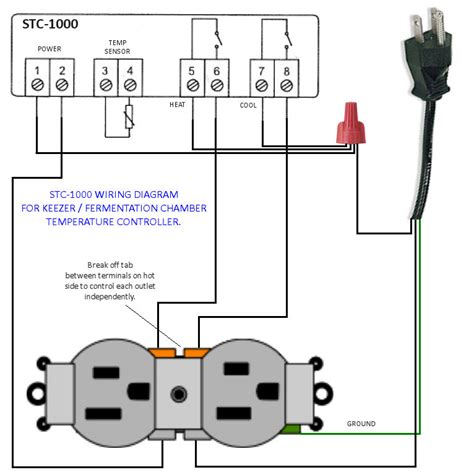 ranco temperature controller wiring diagram 3 pin ac power