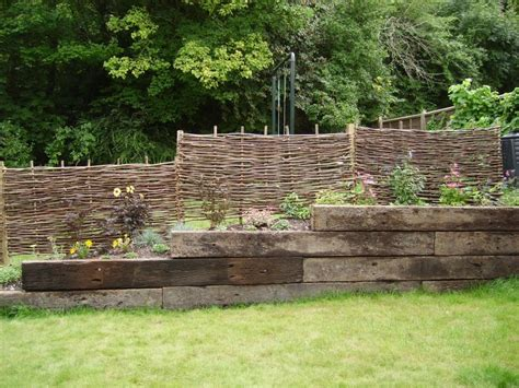 How To Build Retaining Wall With Railway Sleepers by Jon S Retaining Wall With Used Jarrah Railway Sleepers