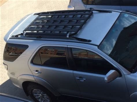 fortuner roof rack rail