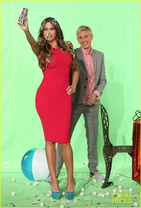 ellen wong commercial sofia vergara s pink dress