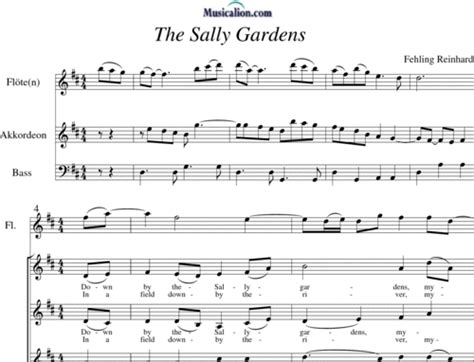 By The Sally Gardens by Musicalion The Sally Gardens Reinhard Fehling