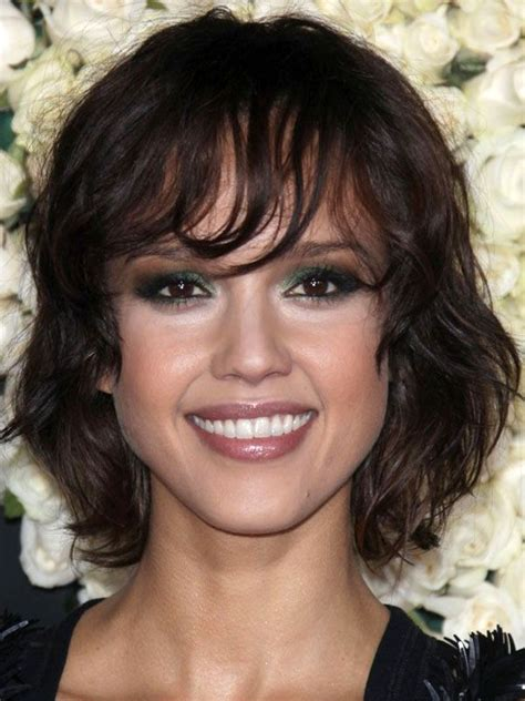 celebrities with oblong faces and thin hair the best and worst bangs for oval faces curly bangs