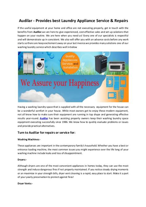 best home appliances audilar provides modern rules for best home appliances