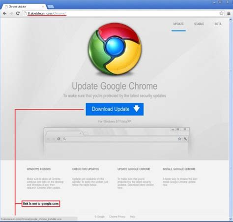 chrome virus nep google chrome update installeert trojan op computer